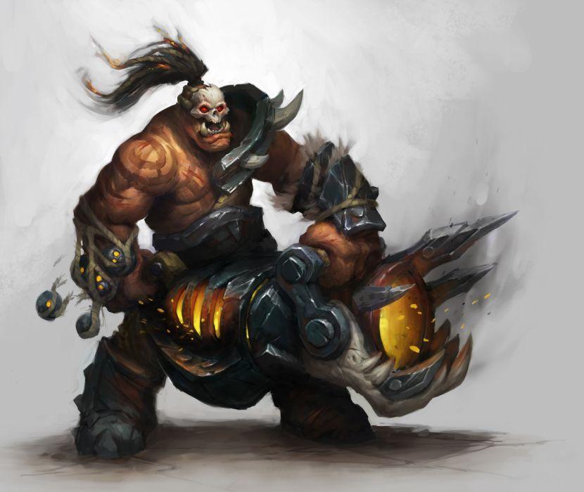 WORLD OF WARCRAFT warlords draenor fantasy (1) wallpaper