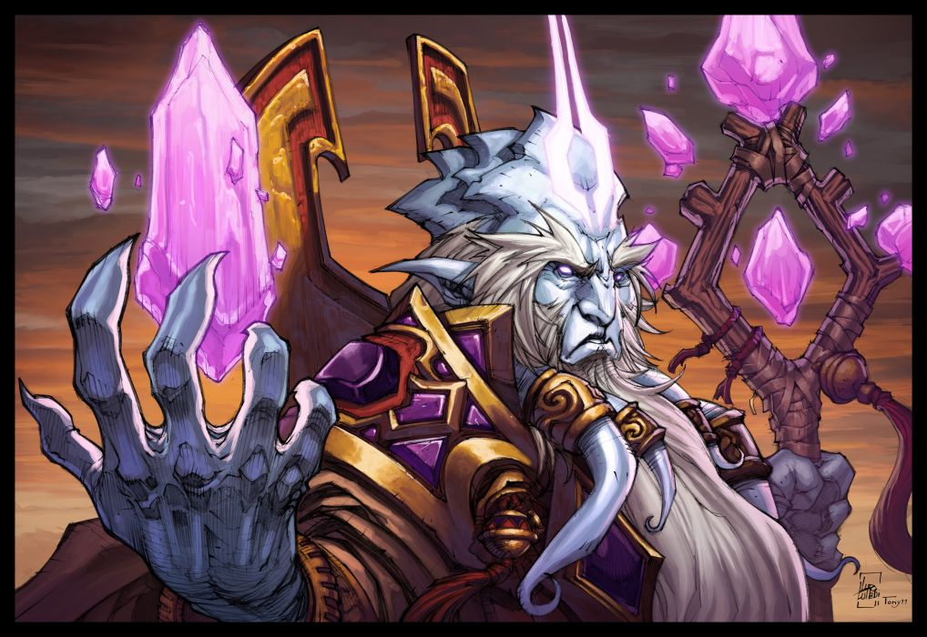 WORLD OF WARCRAFT warlords draenor fantasy (7) wallpaper