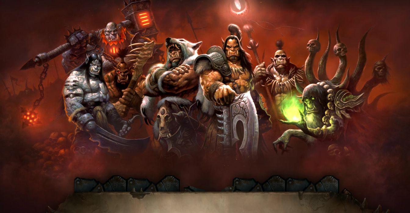 WORLD OF WARCRAFT warlords draenor fantasy (16) wallpaper