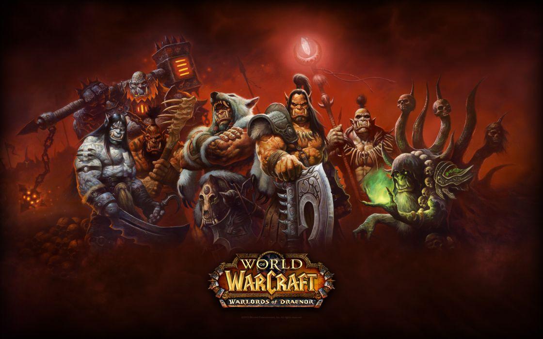WORLD OF WARCRAFT warlords draenor fantasy (22) wallpaper