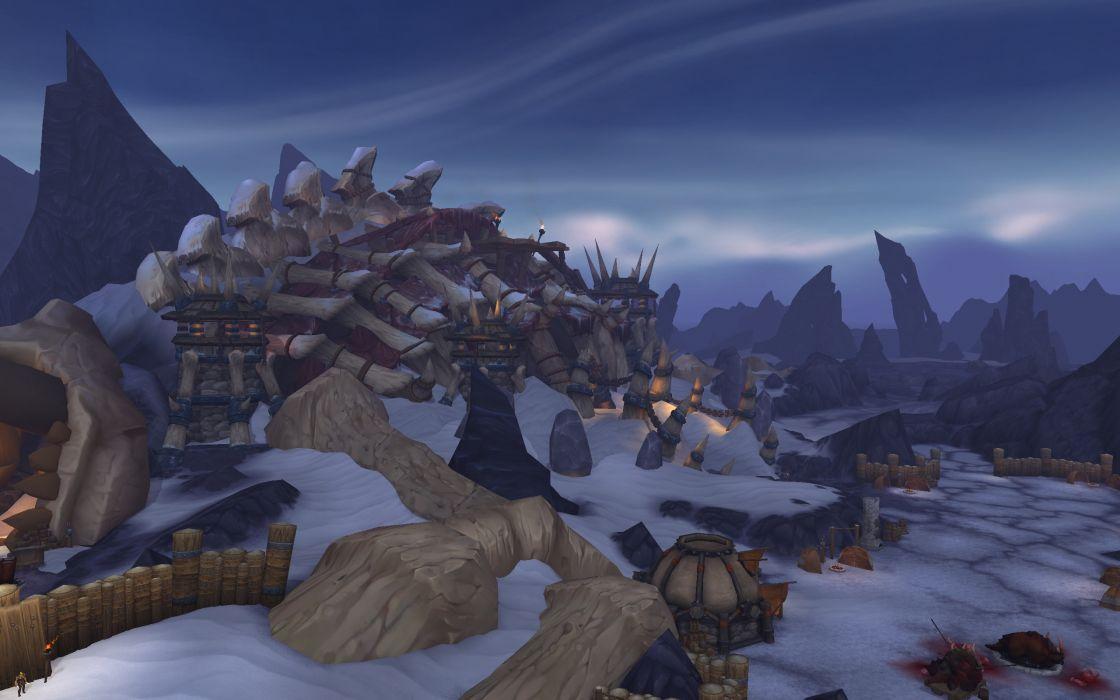 WORLD OF WARCRAFT warlords draenor fantasy (21) wallpaper