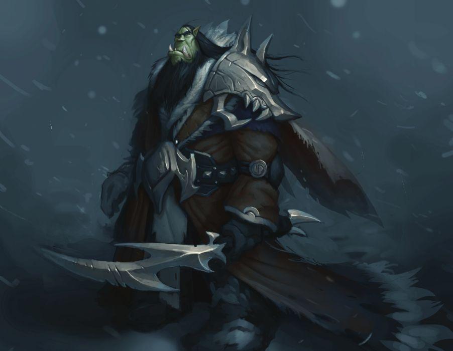 WORLD OF WARCRAFT warlords draenor fantasy (37) wallpaper