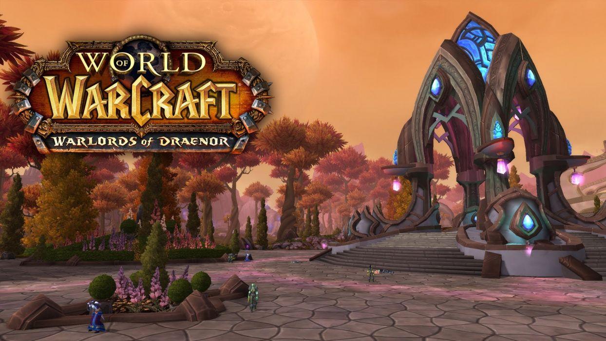 WORLD OF WARCRAFT warlords draenor fantasy (50) wallpaper