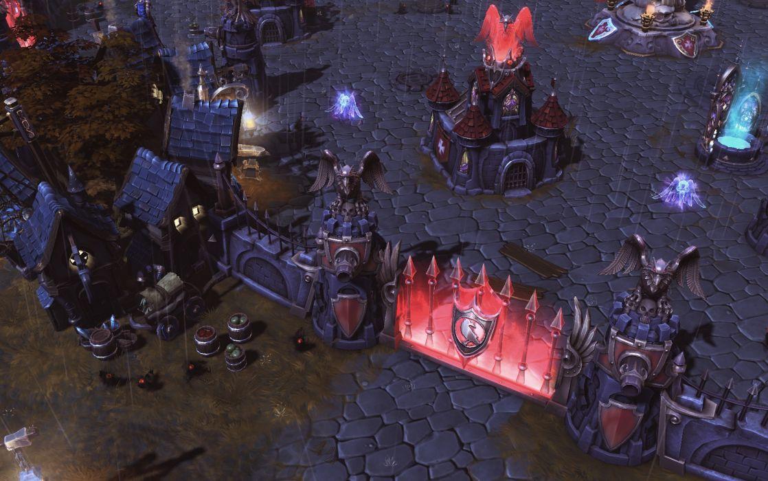 HEROES OF THE STORM Warcraft Diablo StarCraft fantasy sci-fi (7) wallpaper