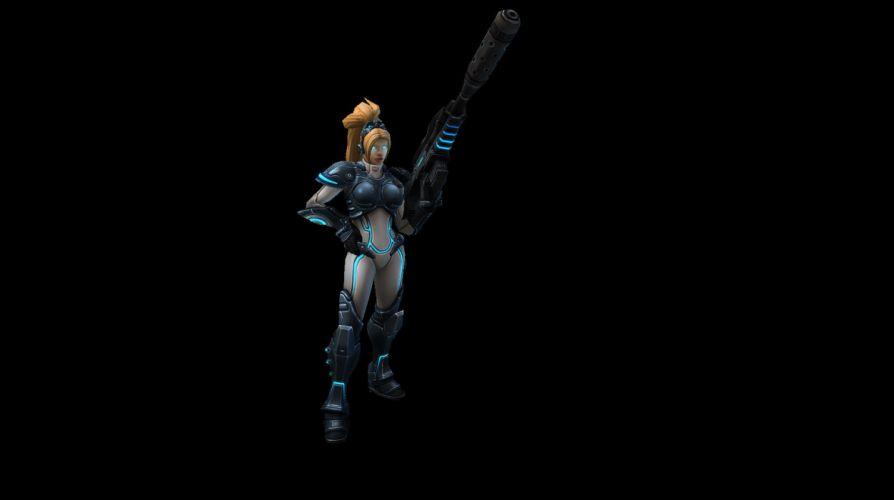 HEROES OF THE STORM Warcraft Diablo StarCraft fantasy sci-fi (12) wallpaper