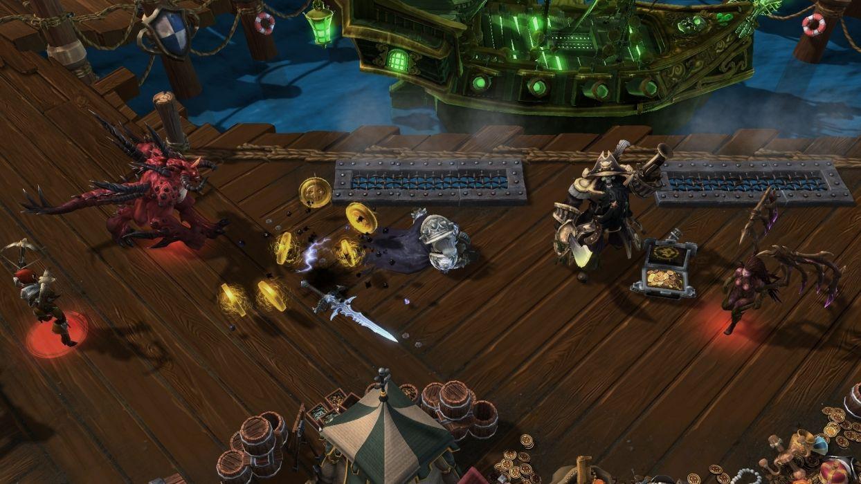 HEROES OF THE STORM Warcraft Diablo StarCraft fantasy sci-fi (23) wallpaper