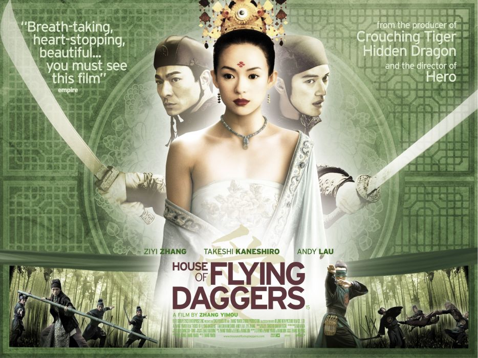 HOUSE OF FLYING DAGGERS fantasy drama asian martial arts (4) wallpaper