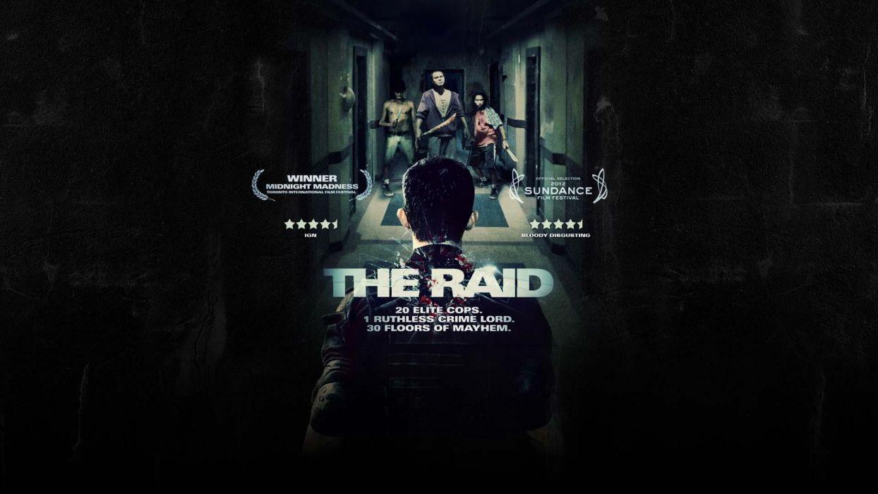 THE-RAID martial arts action raid crime raid thriller (4) wallpaper