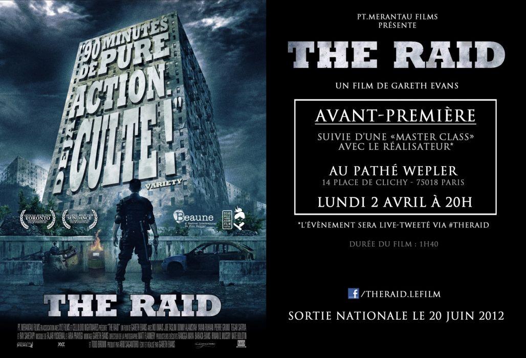 THE-RAID martial arts action raid crime raid thriller (24) wallpaper