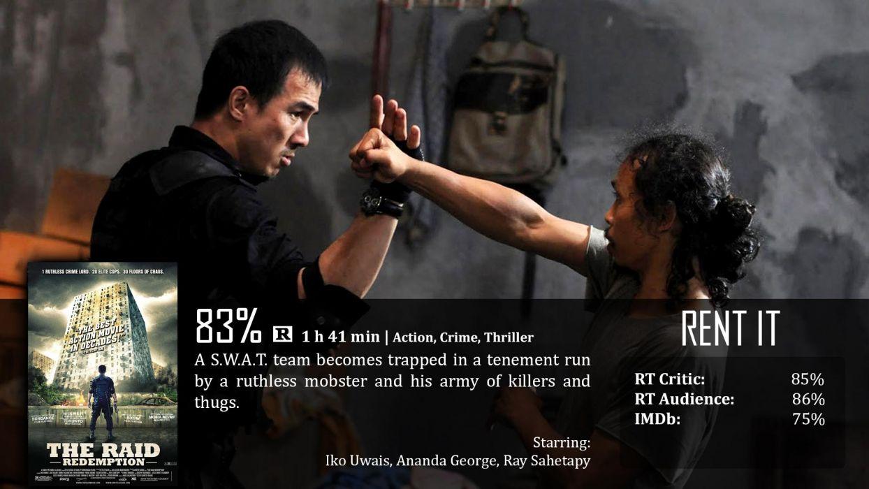 THE-RAID martial arts action raid crime raid thriller (14) wallpaper