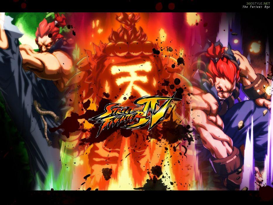 Street Fighter IV Akuma wallpaper