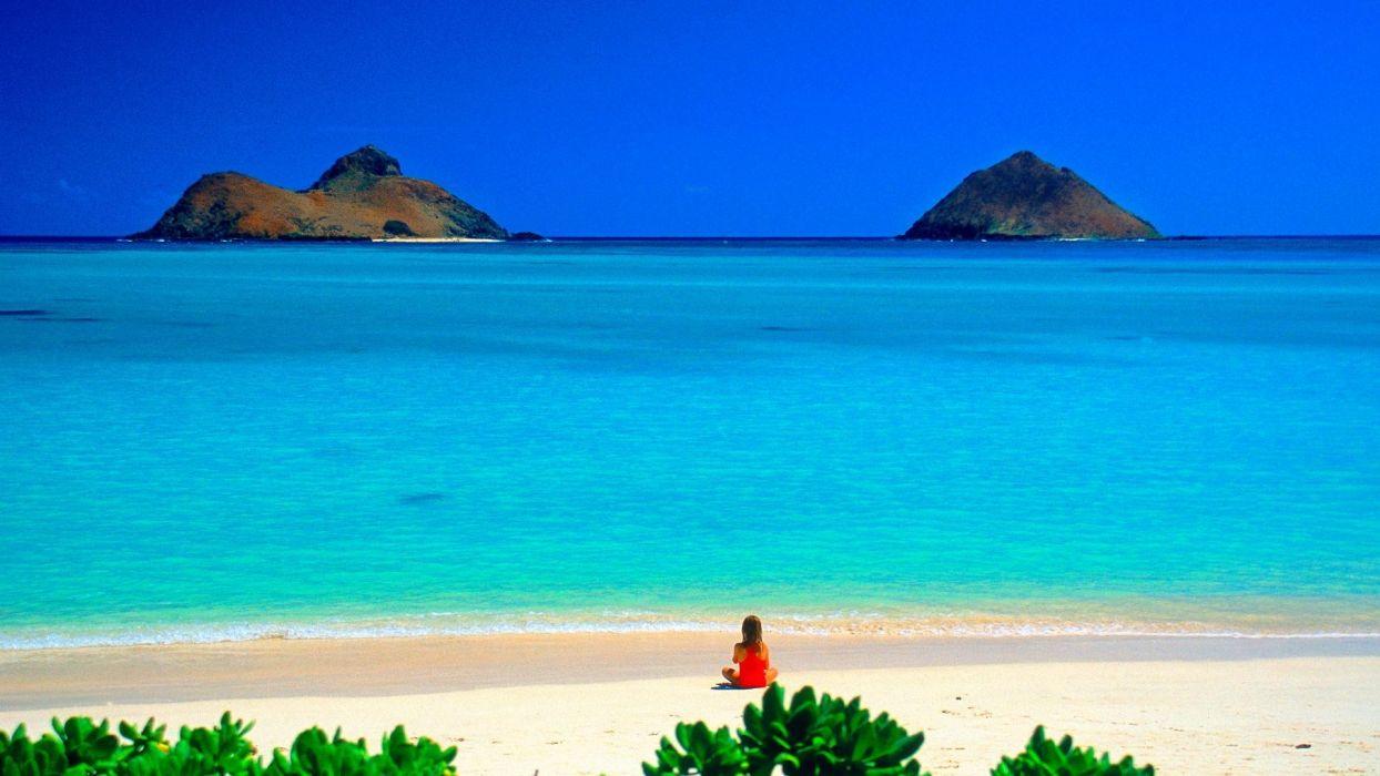 Hawaii Oahu beaches wallpaper