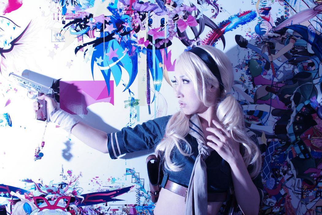 blondes women cosplay Asians Sucker Punch Omi Gibson wallpaper