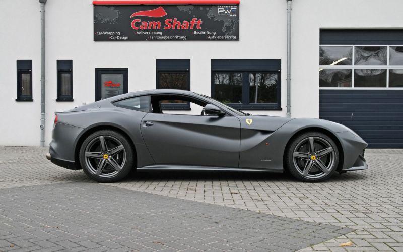 gray Ferrari metallic shaft graphite static matte cam wallpaper