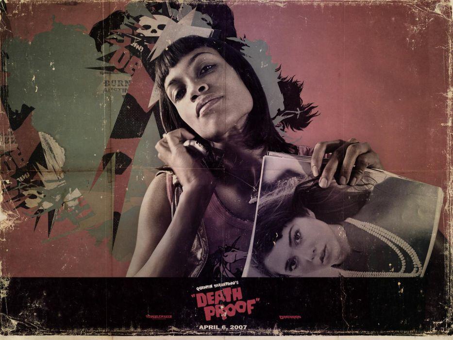 Mary Elizabeth Winstead movies Death Proof Rosario Dawson wallpaper