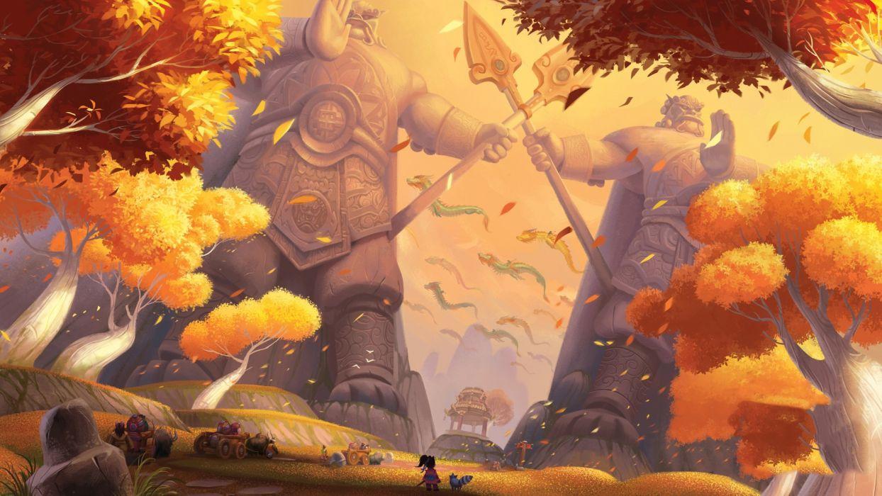 World of Warcraft World of Warcraft: Mists of Pandaria game wallpaper