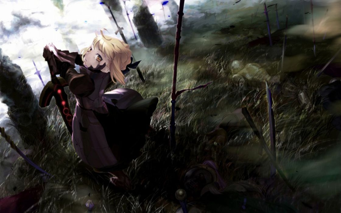 Fate/Stay Night Saber  Saber Alter Fate series wallpaper
