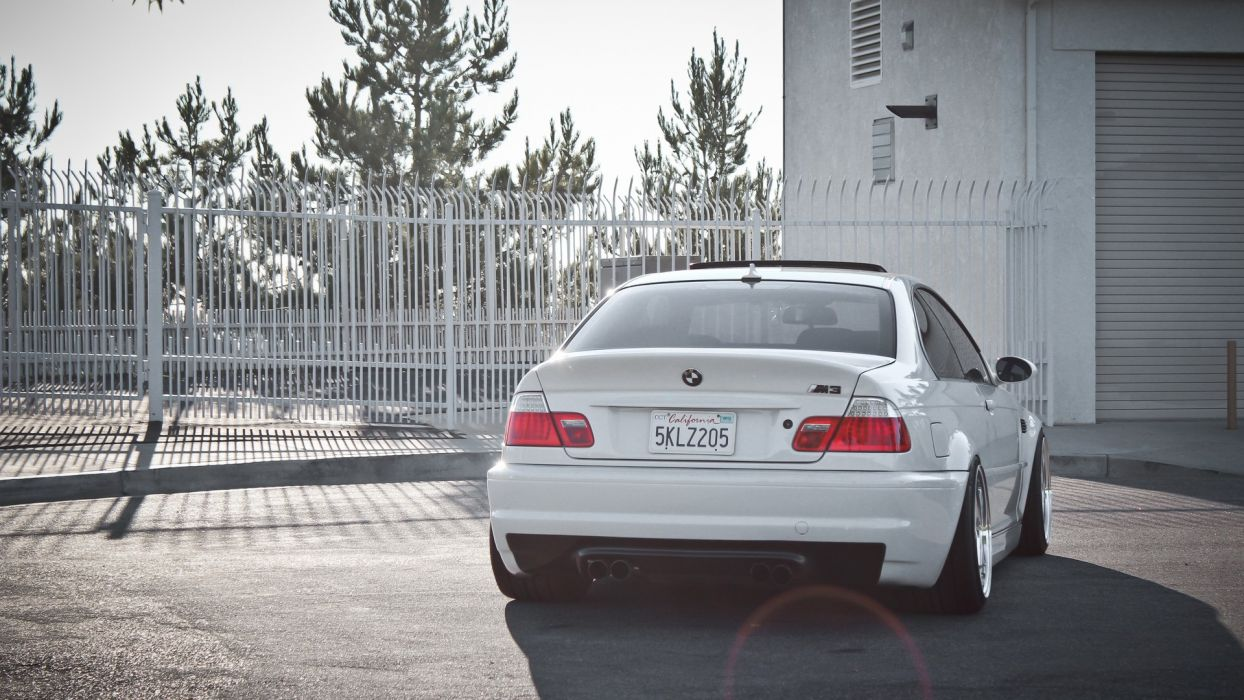 BMW white cars vehicles tuning wheels BMW M3 sports cars BMW E46 luxury sport cars wallpaper