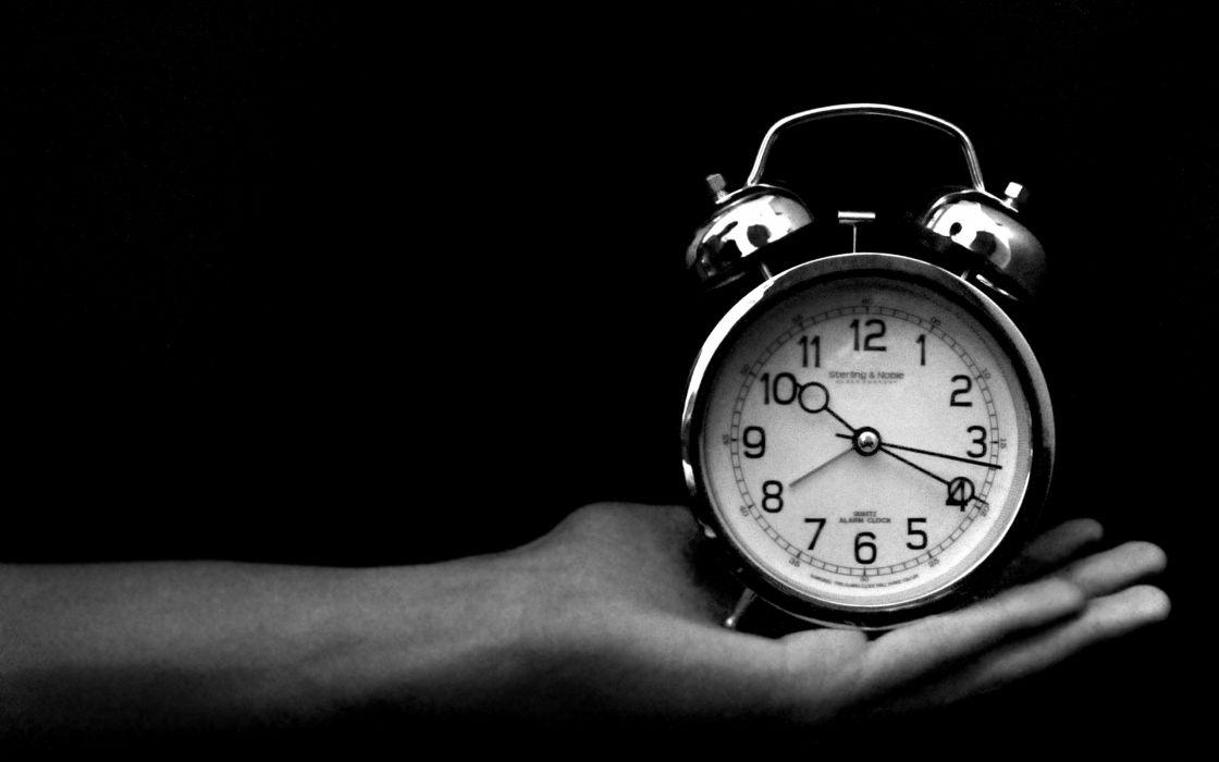 clocks monochrome wallpaper
