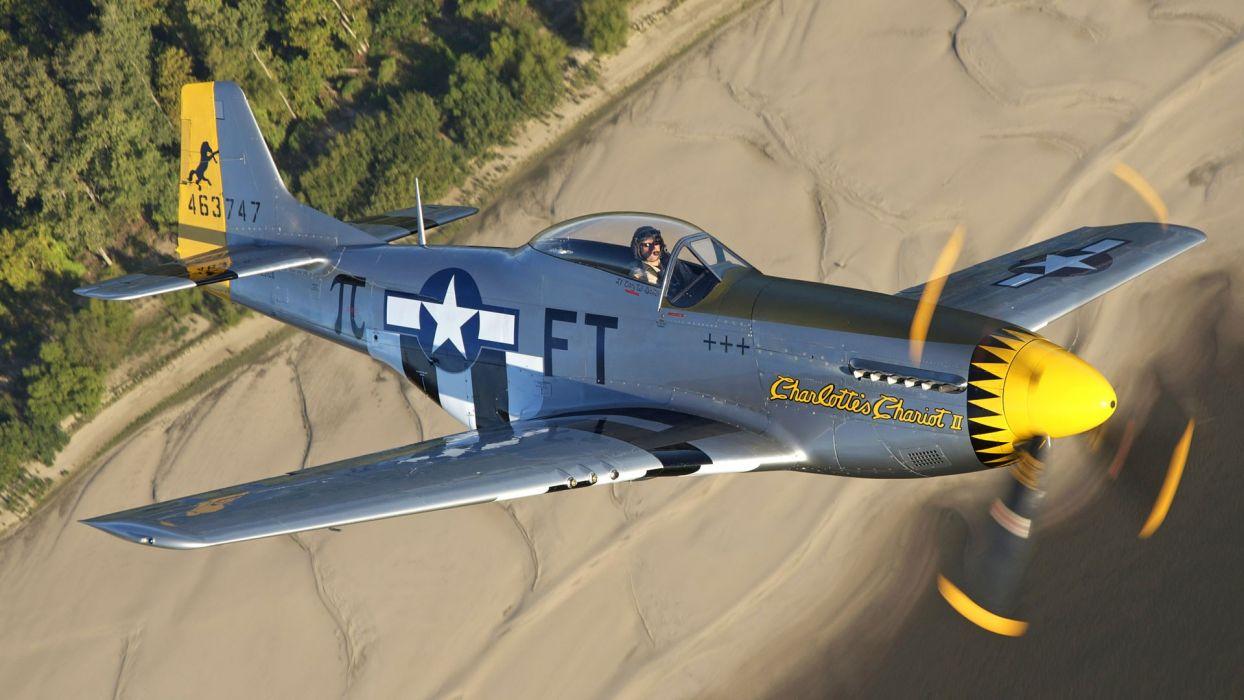 Aircraft Warbird P 51 Mustang Wallpaper 1920x1080 217939