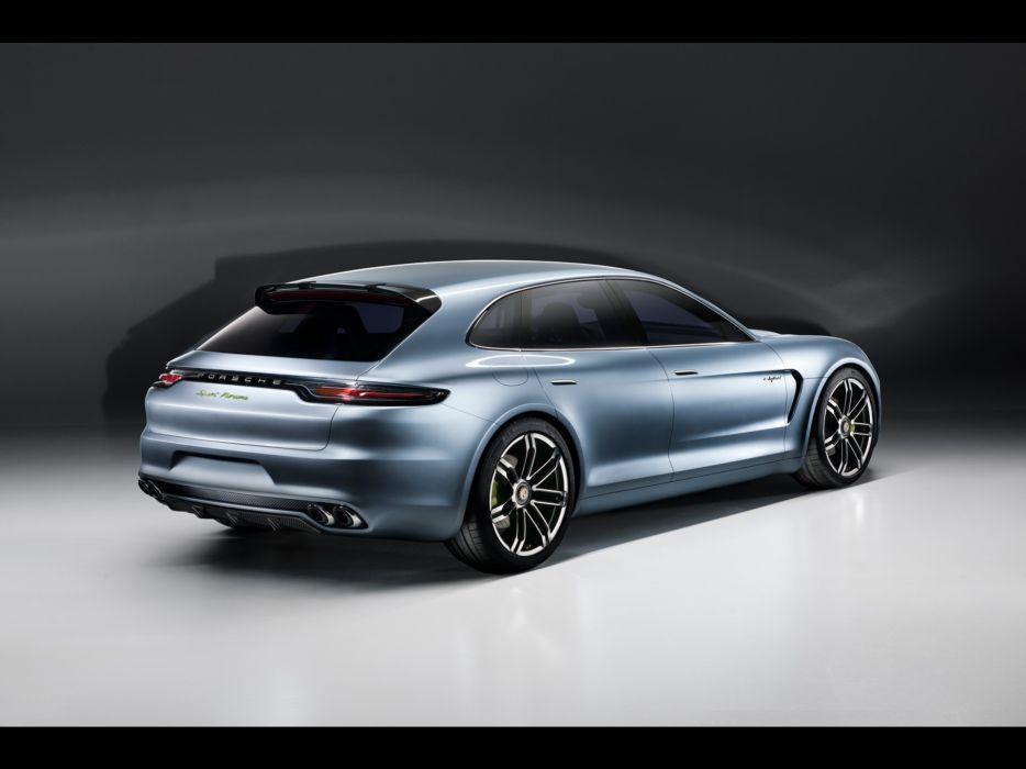 studio concept art Porsche Panamera Porsche Panamera Sport Turismo Concept wallpaper