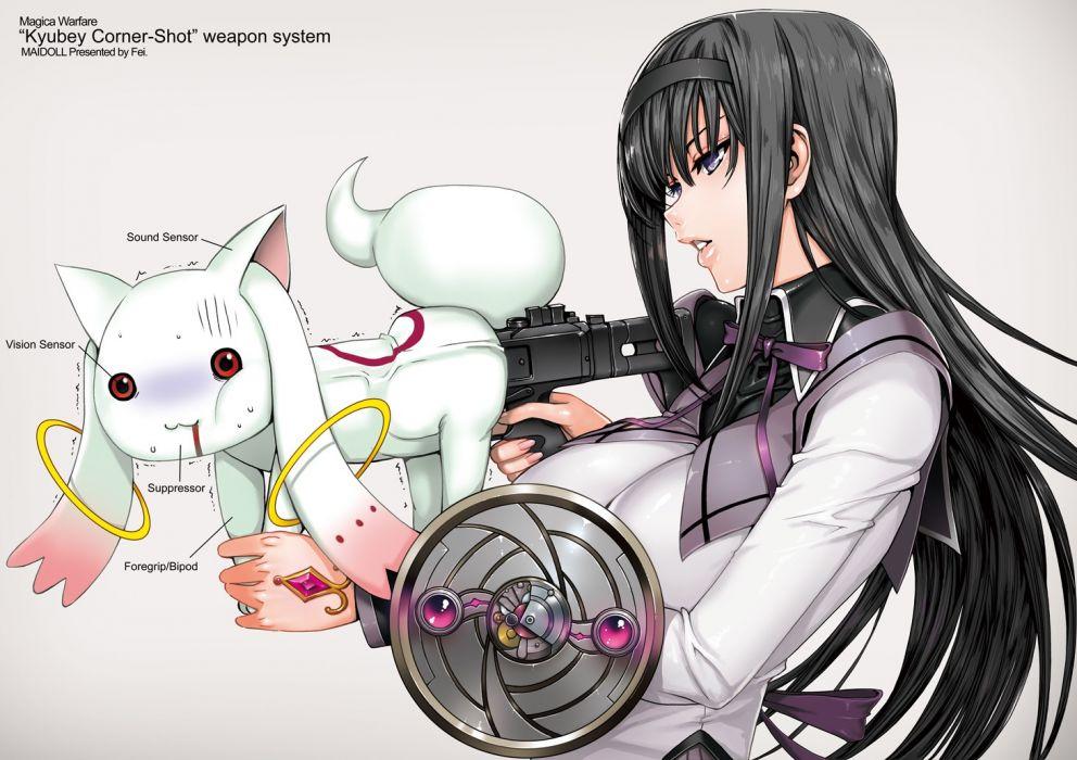 Mahou Shoujo Madoka Magica Akemi Homura wallpaper