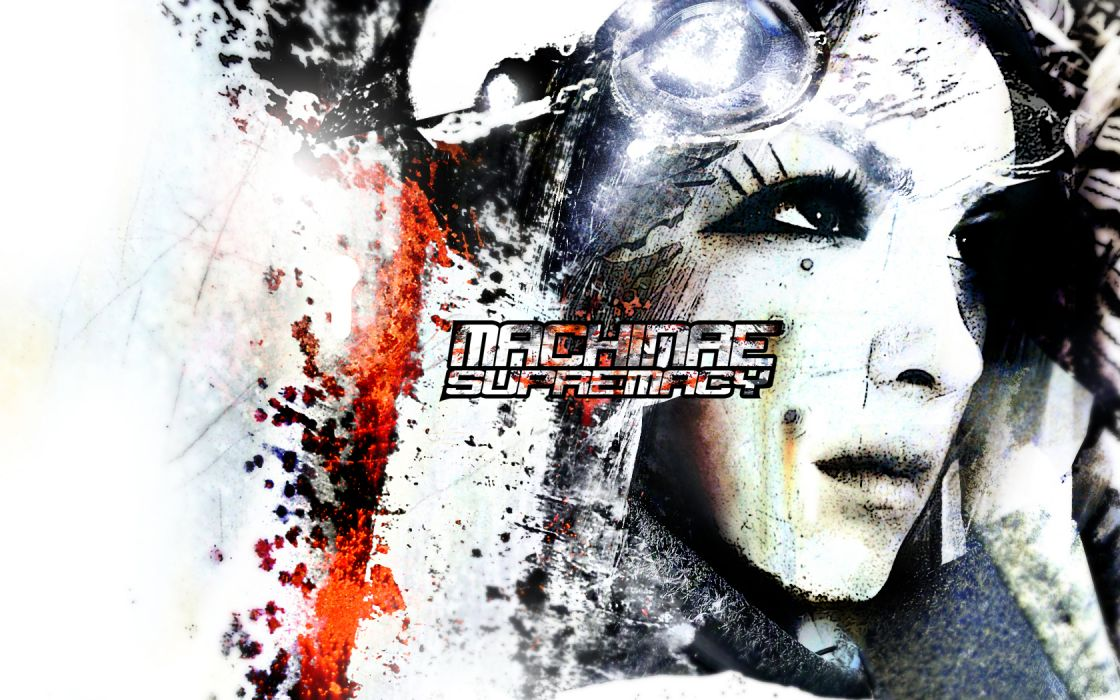 machinae supremacy logos bands Redeemer wallpaper