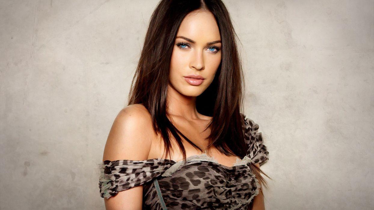 women Megan Fox models wallpaper
