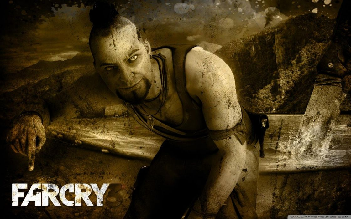 video games Far Cry Far Cry 3 Vaas Montenegro Far Cry 3 video game wallpaper