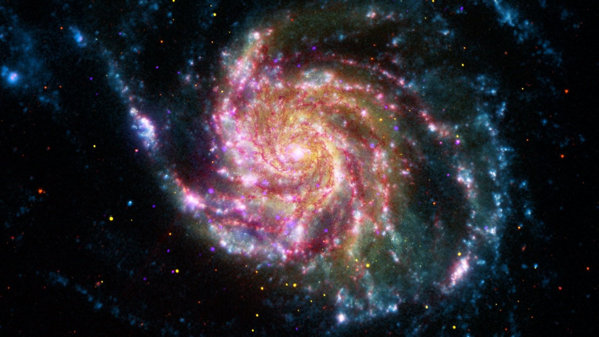 Sun Stars Galaxies Moon NA