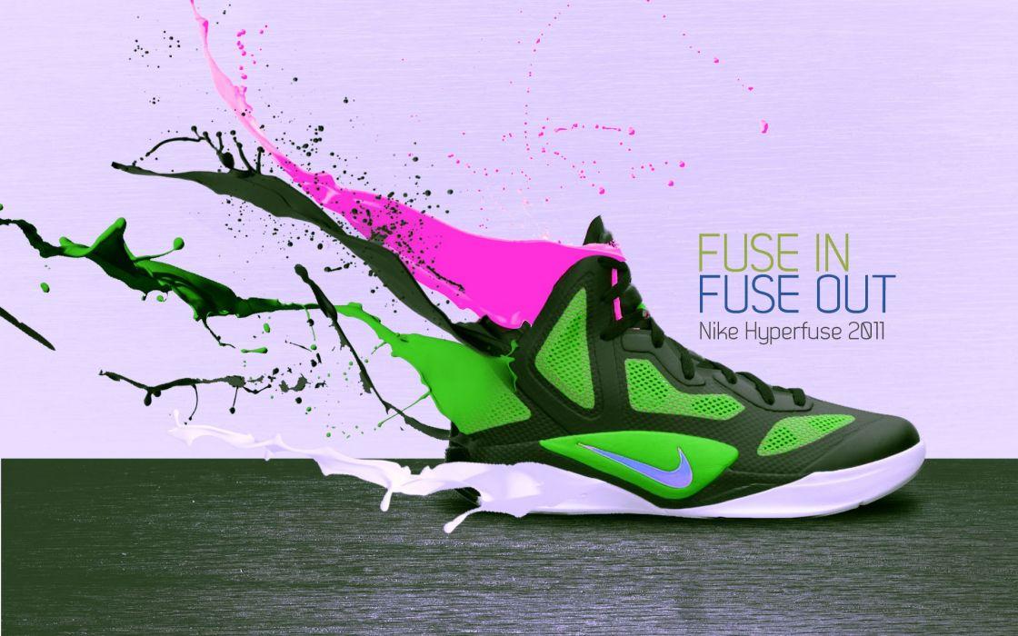 Nike sneakers wallpaper