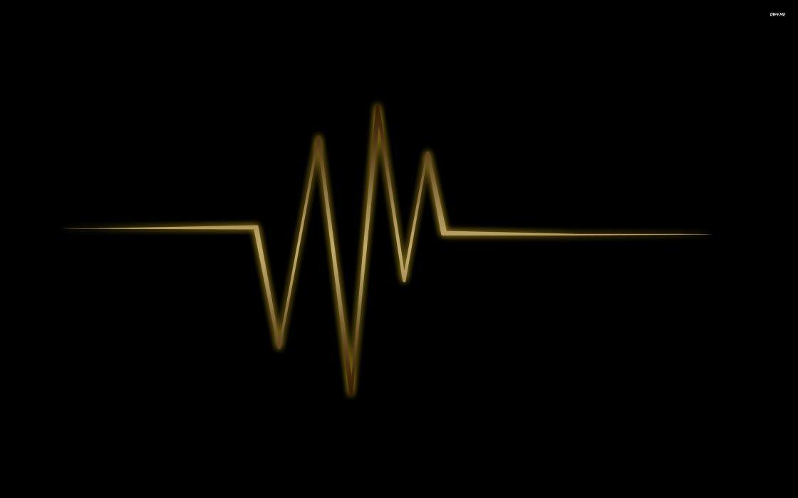 abstract death minimalistic dark design vectors healthy lines beat hearts screens wallpaper