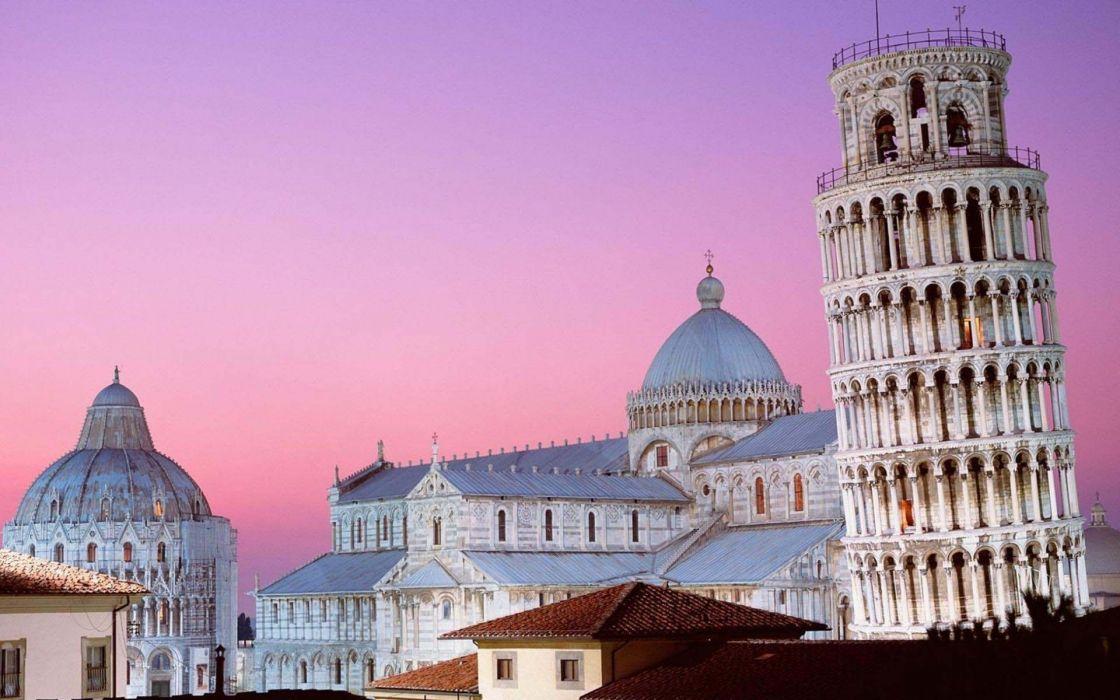 tower pizza Pisa Leaning Tower of Pisa wallpaper