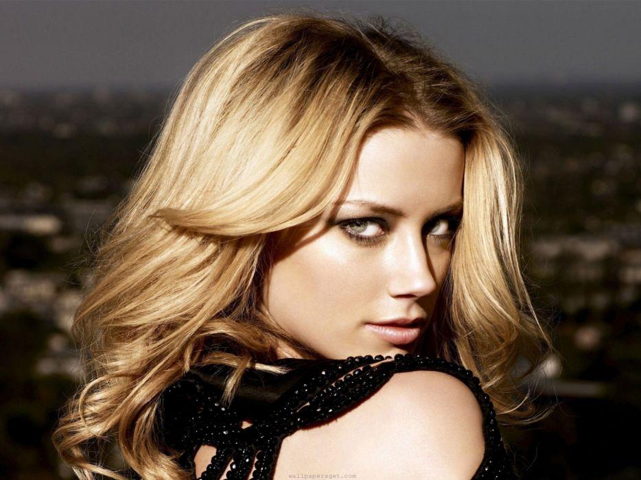 blondes women American actress Amber Heard youth wallpaper