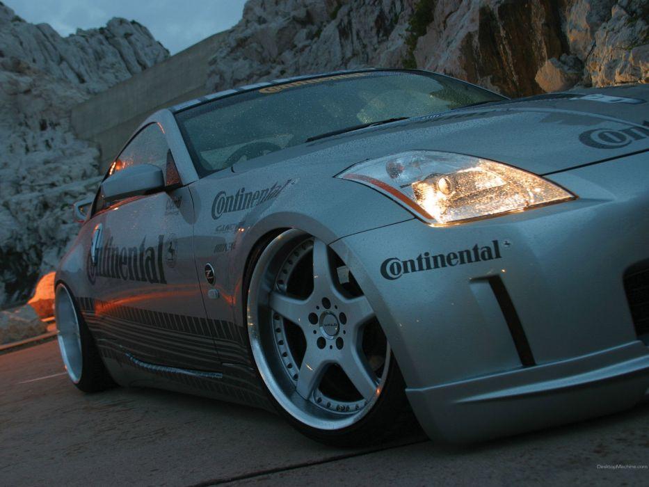 cars Nissan Nissan Fairlady Z33 350Z wallpaper