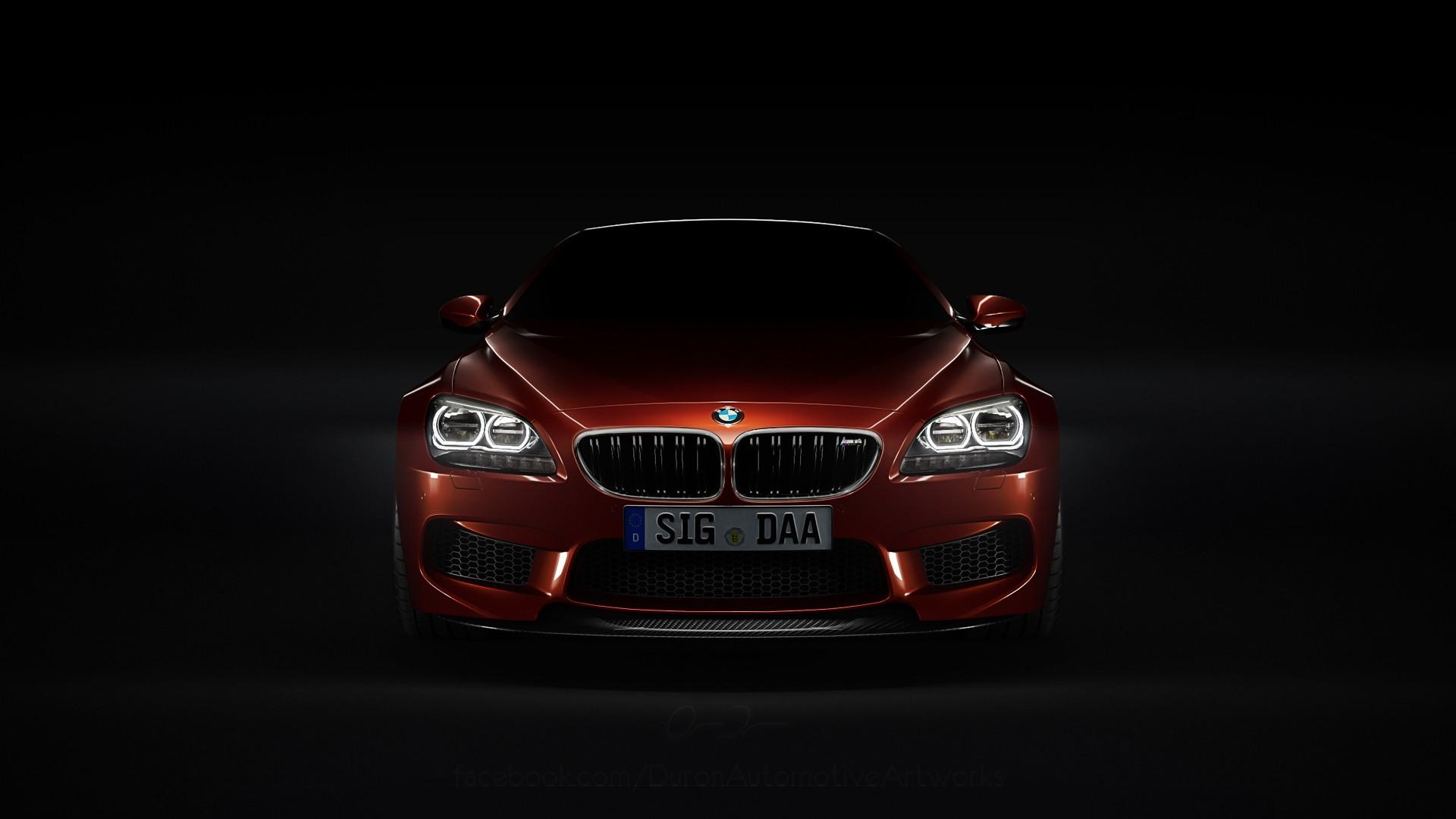 Download Wallpaper 3415x3415 Bmw Headlights Car Cloudy: DeviantART Vehicles BMW M6 Black Background Headlights