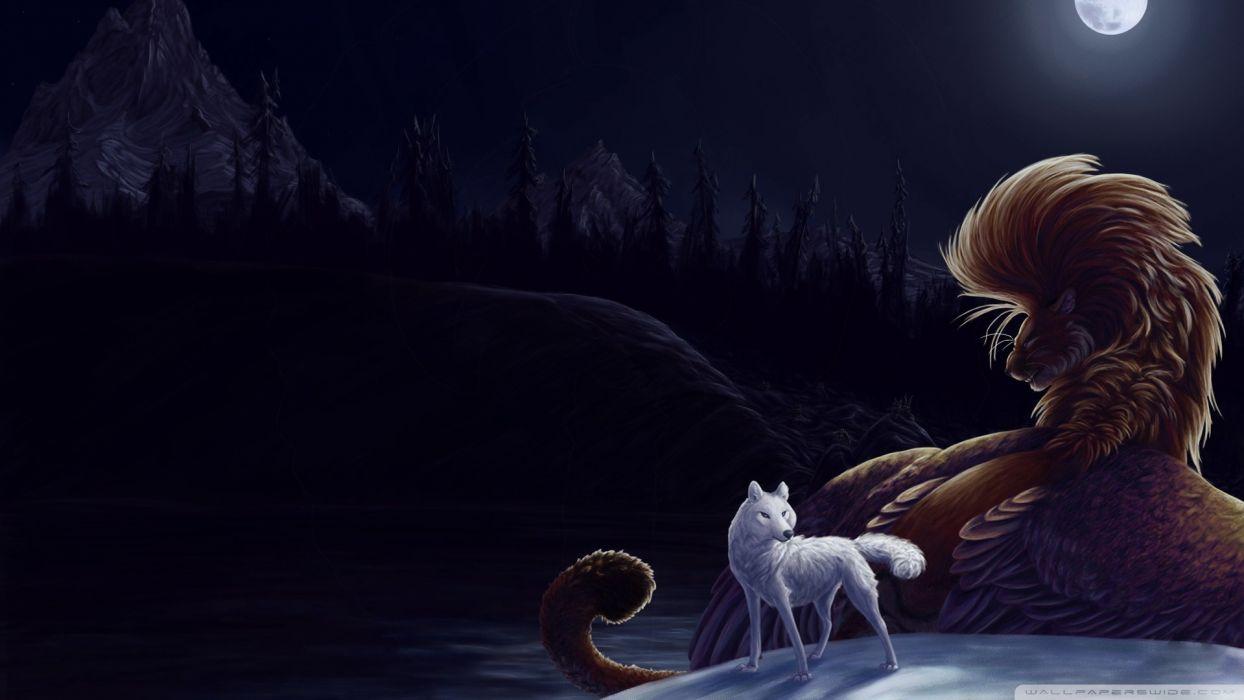 fantasy animals fantasy art TagNotAllowedTooSubjective wallpaper