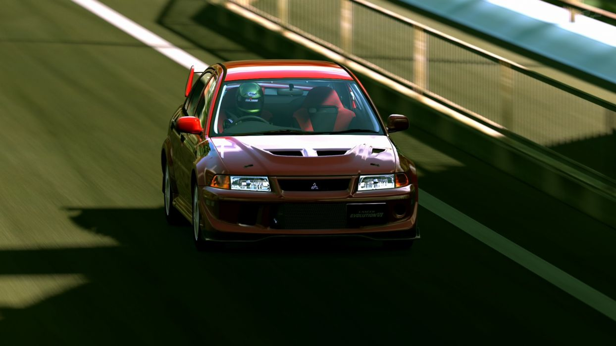 video games cars vehicles mitsubishi lancer evolution gran turismo 5
