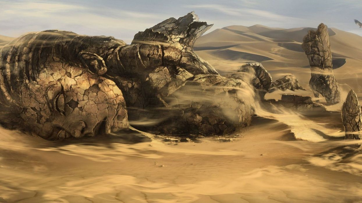 landscapes fantasy art Mortal Kombat wallpaper