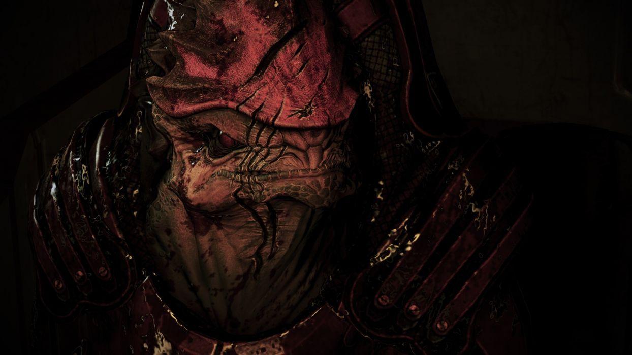 concept art Mass Effect 3 Tuchanka wallpaper