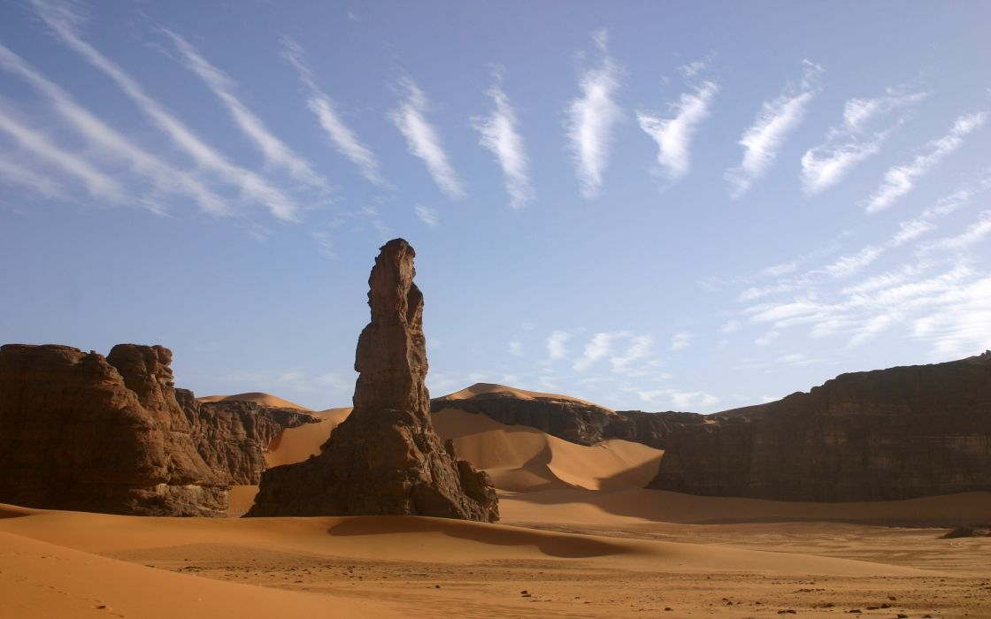 clouds landscapes nature sand deserts skyscapes wallpaper
