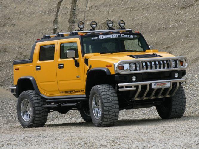 vehicles Hannibal geigercars Hummer H2 wallpaper