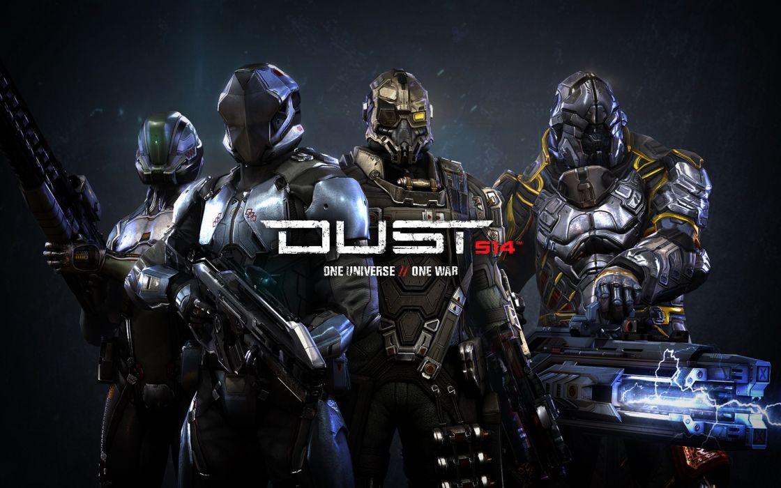 video games CGI Dust 514 wallpaper