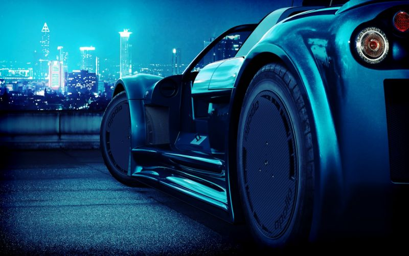 close-up cars Gumpert Apollo wallpaper