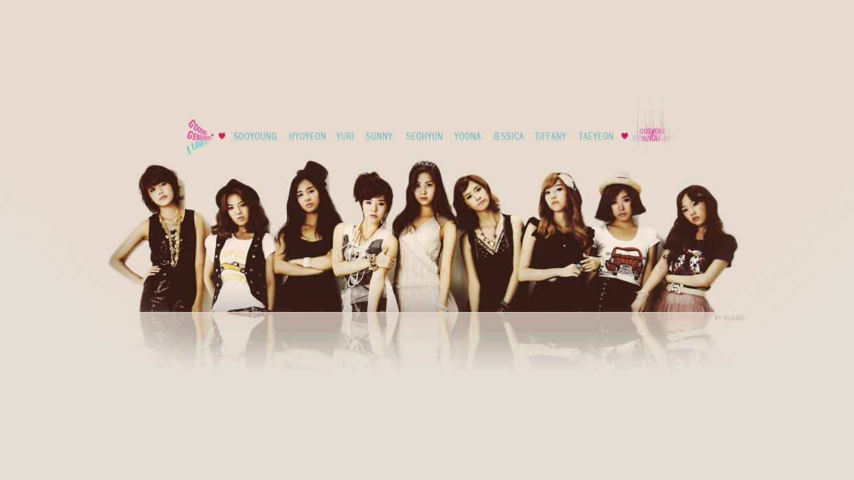 women music Girls Generation SNSD celebrity Asians Korean Korea singers K-Pop band South Korea wallpaper