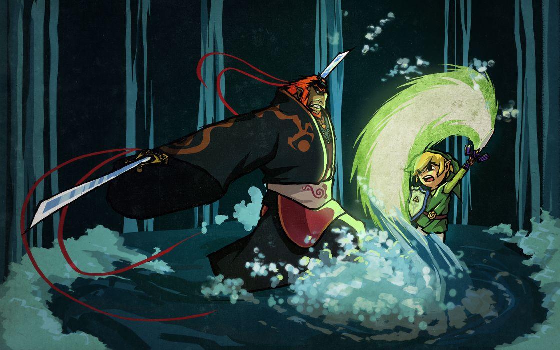 video games The Legend of Zelda wallpaper