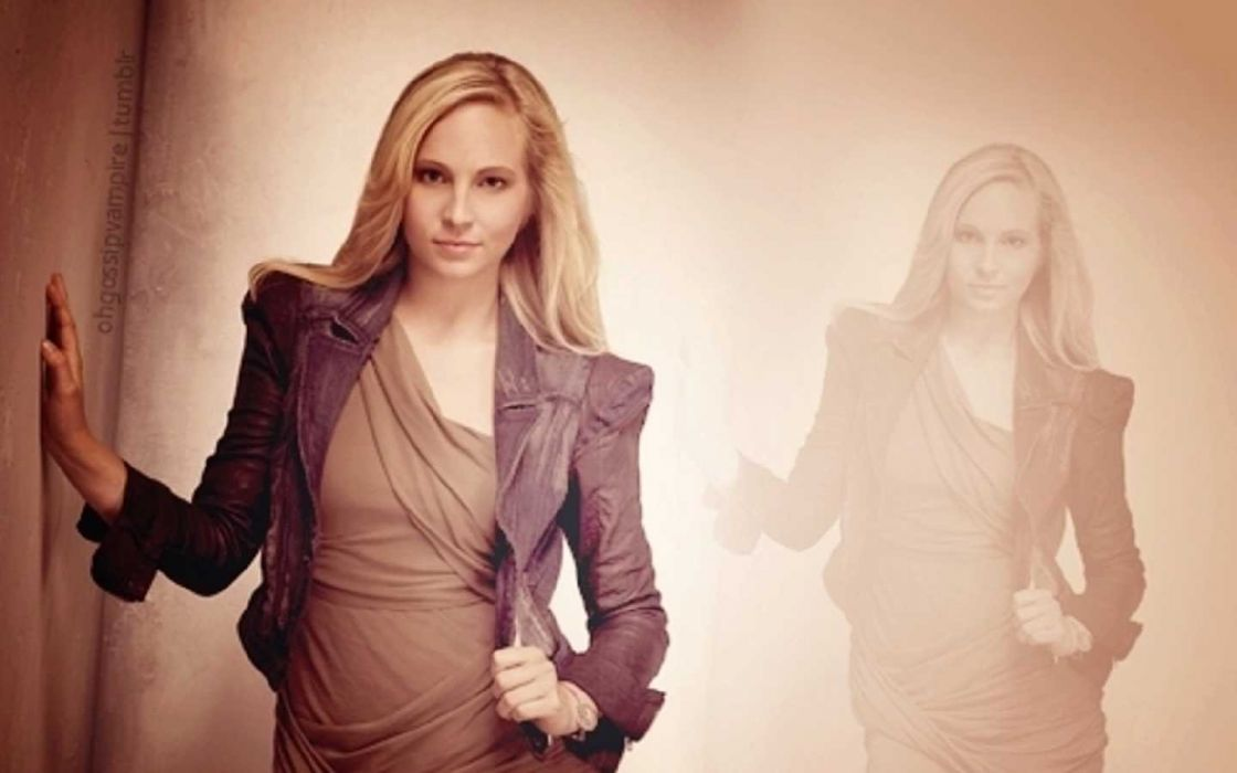 blondes women actress celebrity singers Candice Accola The Vampire Diaries wallpaper