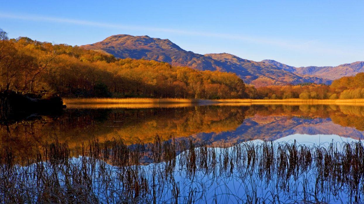 autumn Scotland National Park wallpaper