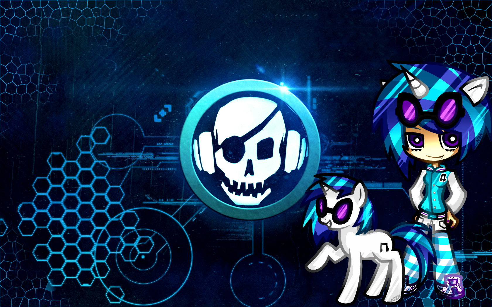 vinyl scratch wallpaper for android