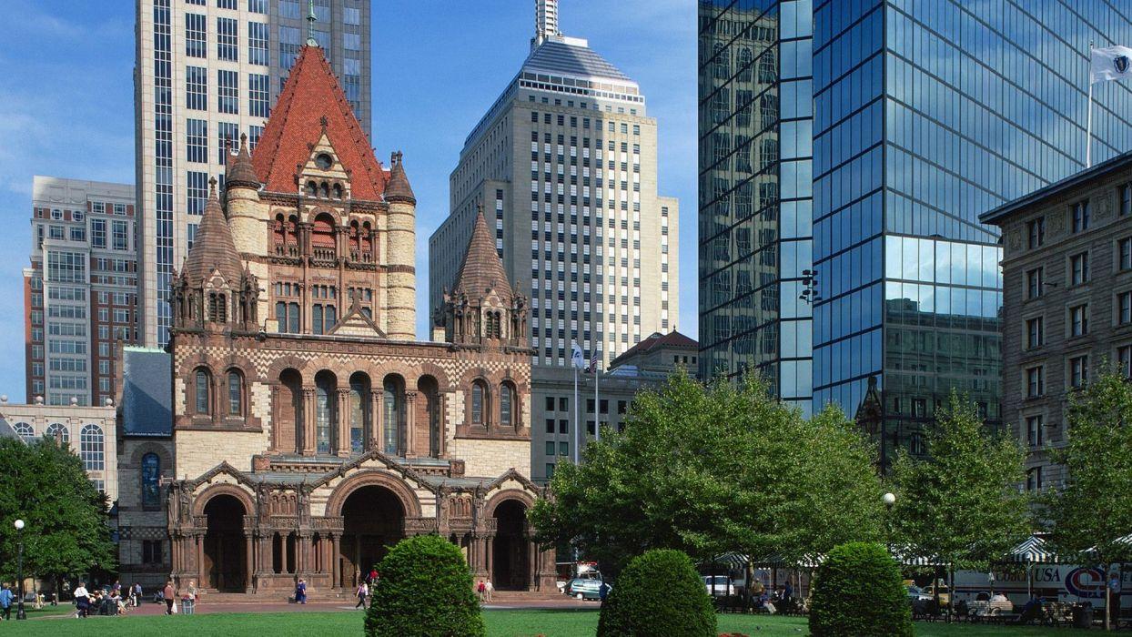 Trinity churches Boston Massachusetts
